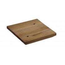Chapeau de poteaux bois carré plat