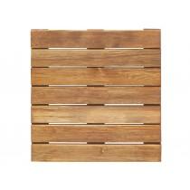 Baldosa de madera estriada Pino clase 4 marron 500x500