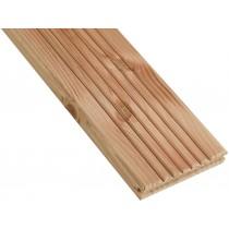 Decking de madera Cahuita Douglas excluido Aubier