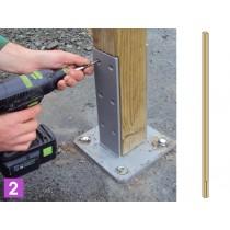 poste de madera de pino para la Clase 4 gobos