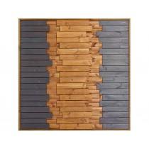 Panneau bois Oasis 2 colonnes colorées