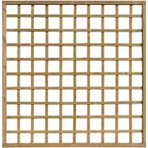 Celosía madera Shinook clase 4 marron 180x180 cm