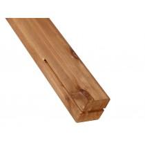 Poste de madera H Fuertes Vientos Pino