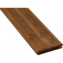 Lama de terraza estriada de Pino Clase 4 marrón