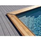 Maéva piscina rectángulo
